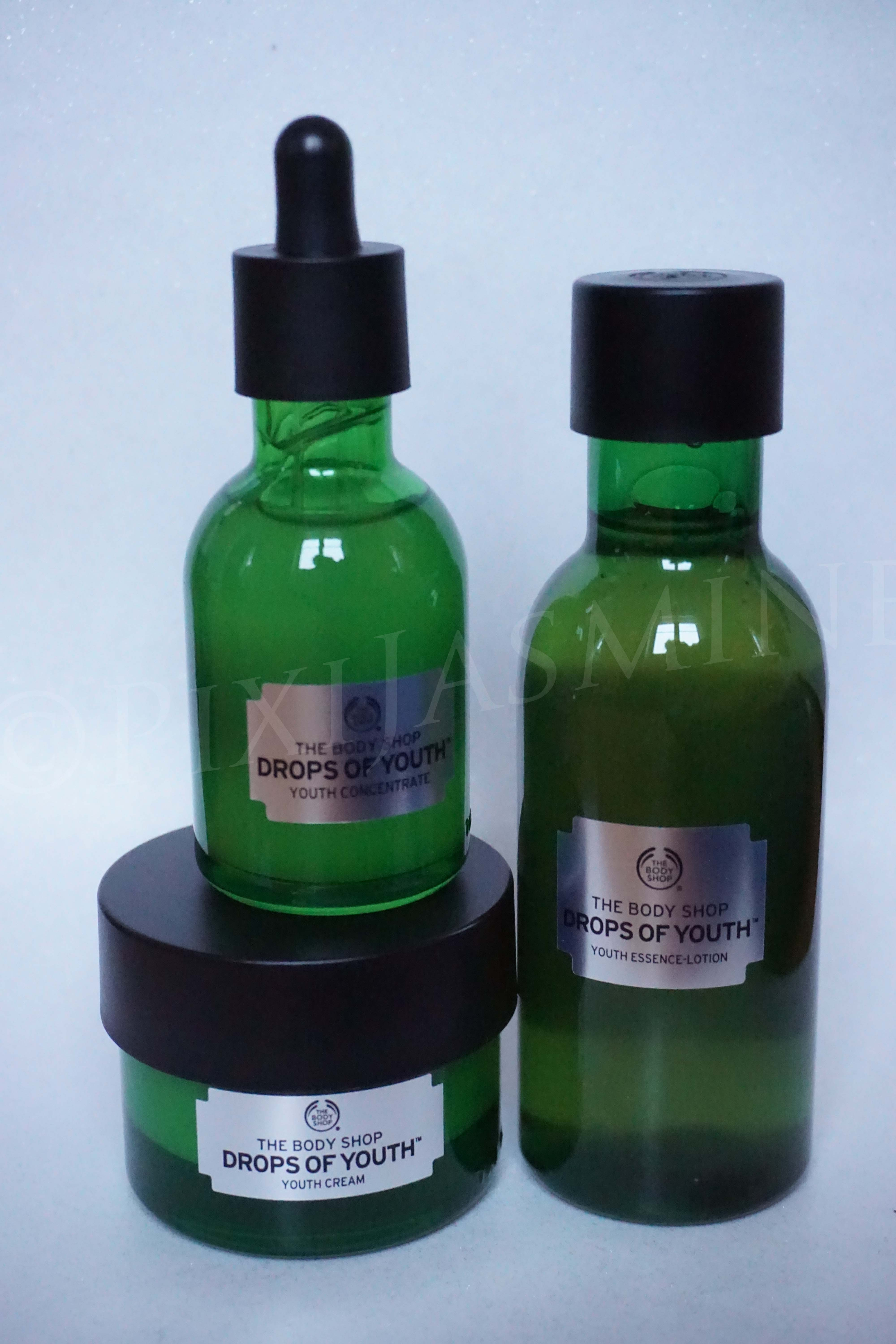 The Body Shop Drops of Youth Series