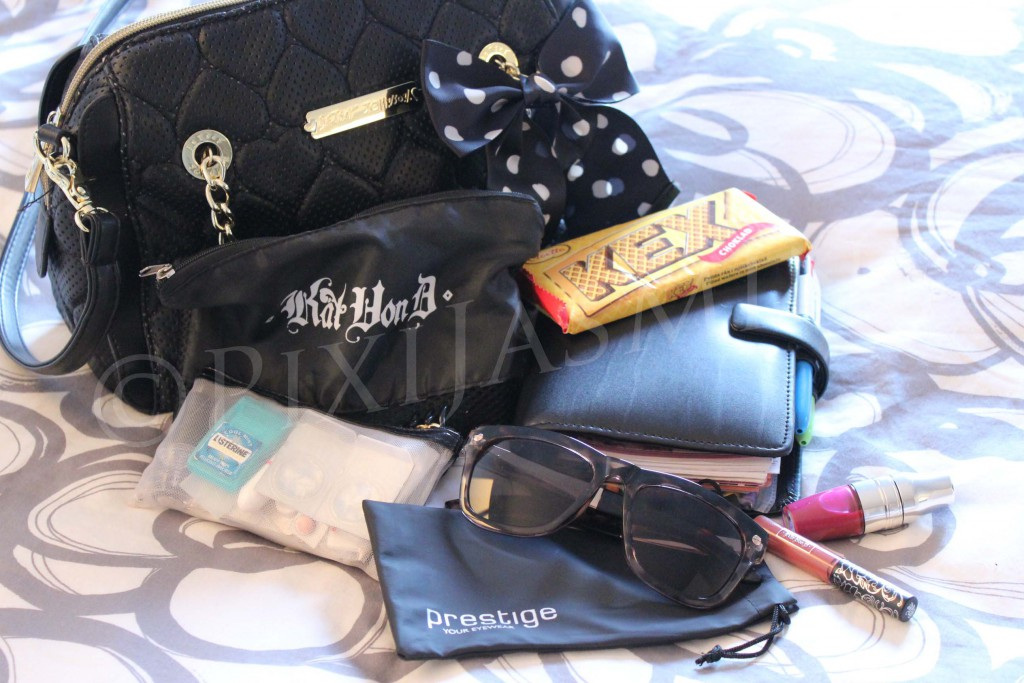 what's in my bag april 2016