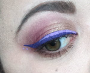 LOTD colored eyeliner NYX Vivids