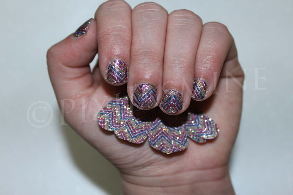 NOTW - sephora nail patch hippie chic