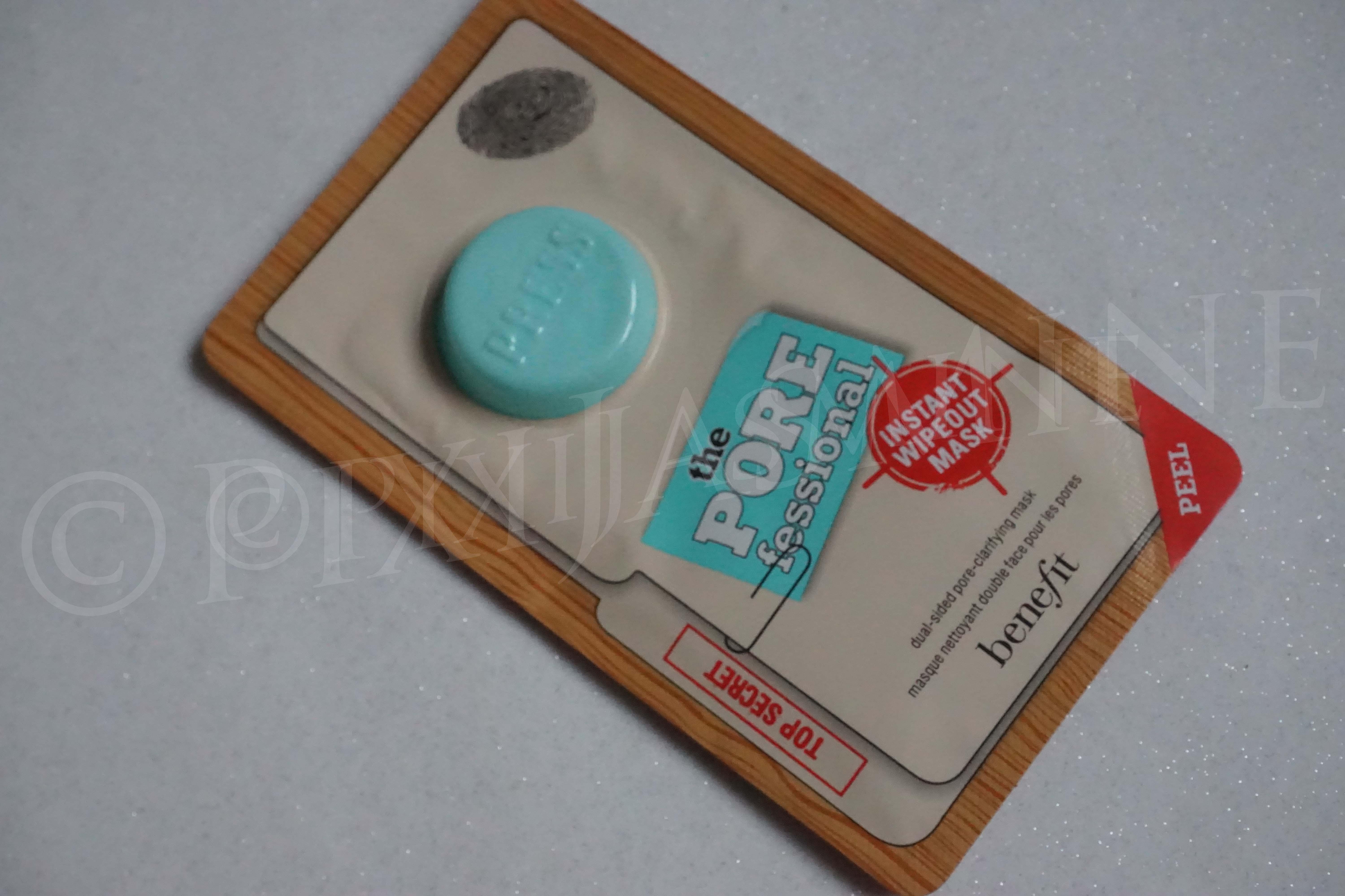 Benefit porefessional wipeout mask