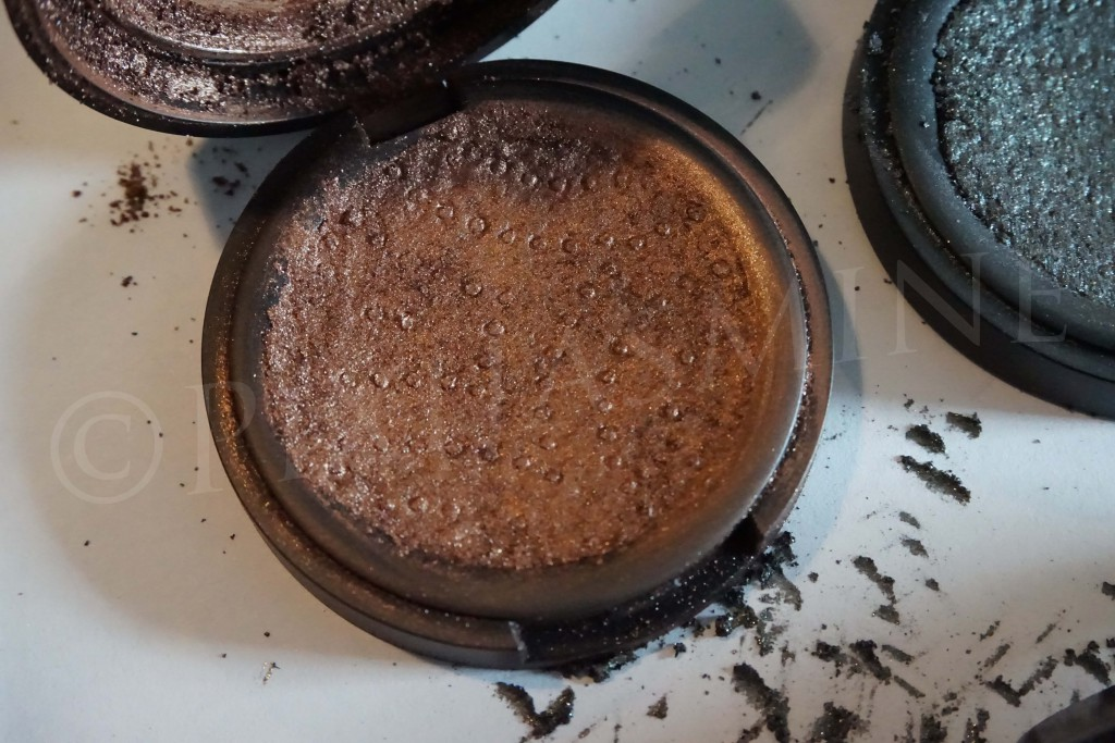 How to fix broken eyeshadow kat von d crushed
