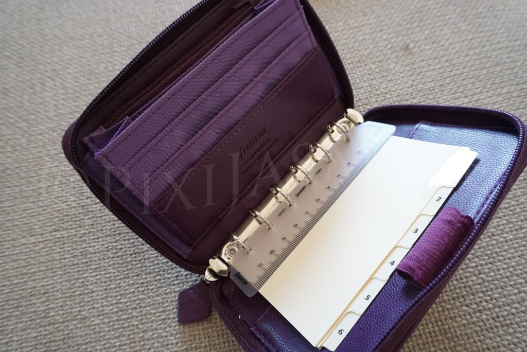 filofax gold staffiano pocket organize