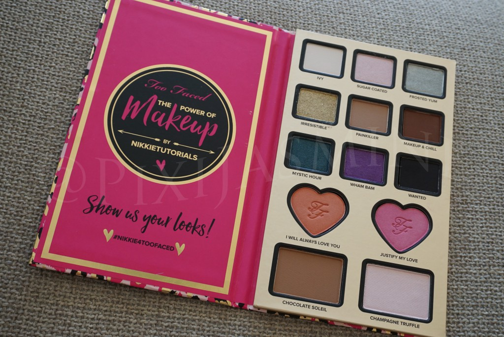 160920 Too Faced Nikkie Tutorials power of makeup palette