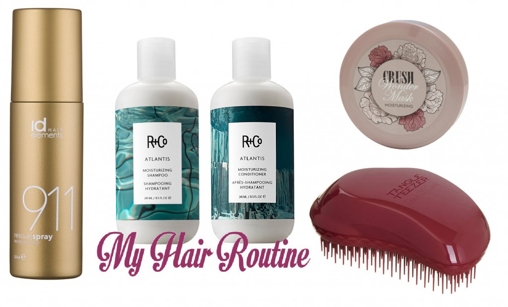 my hair routine 2016
