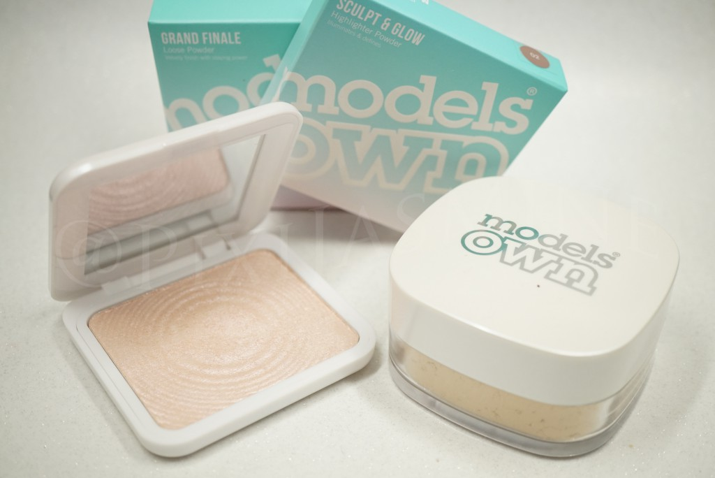 Modelsown powder highlighter new products